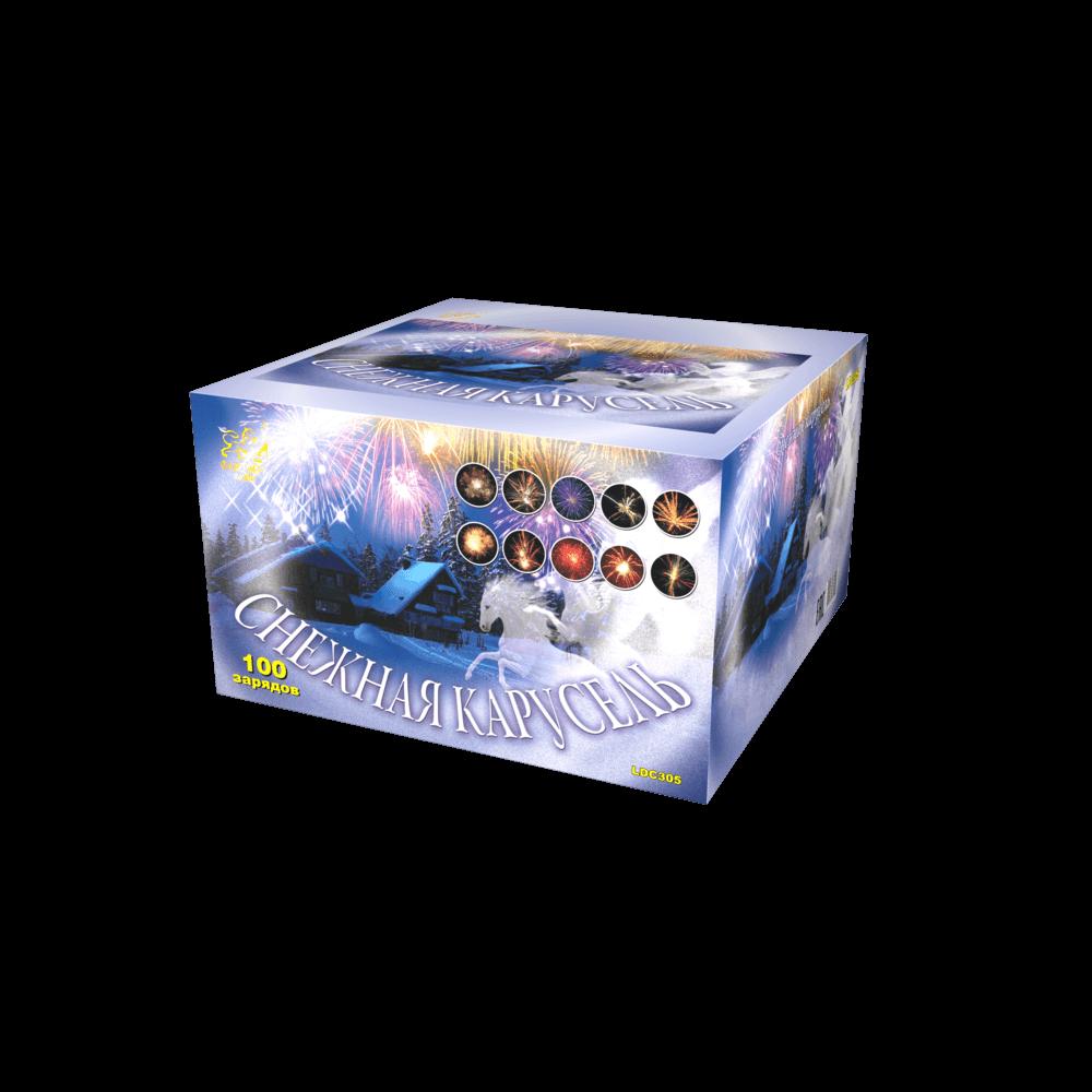 LDC305 Снежная карусель (1,25″ х 100)