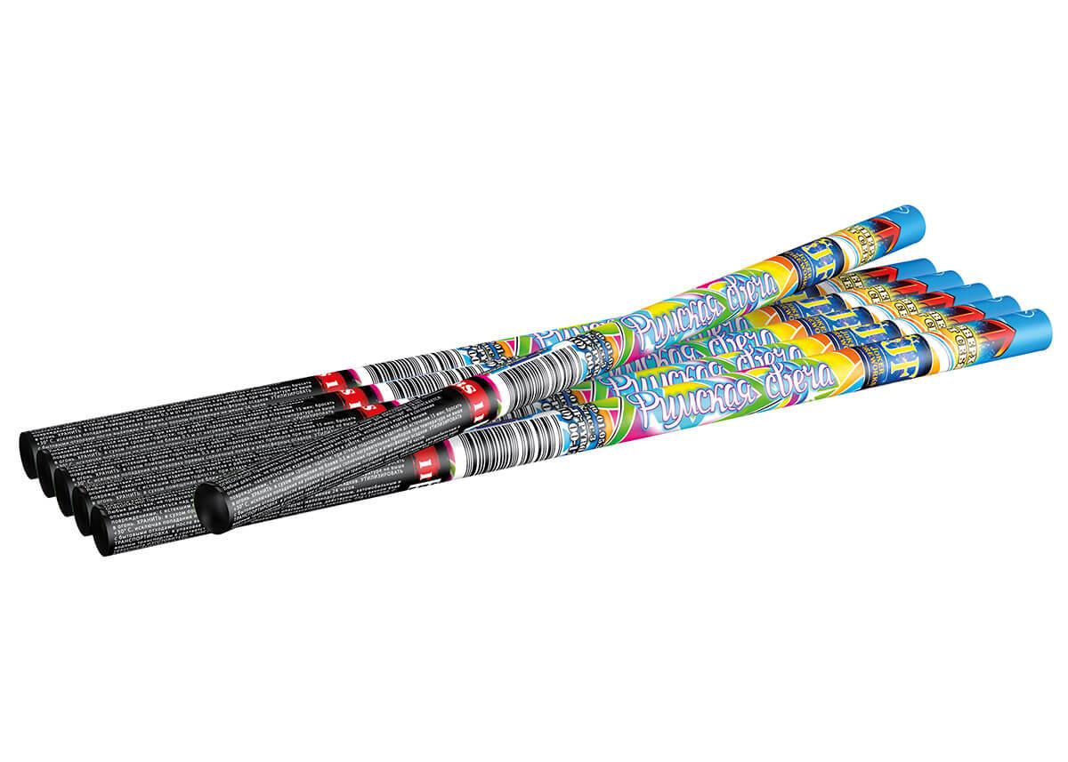RS11 Римская свеча 20 мм, 8 зарядов 0,8″  24/6